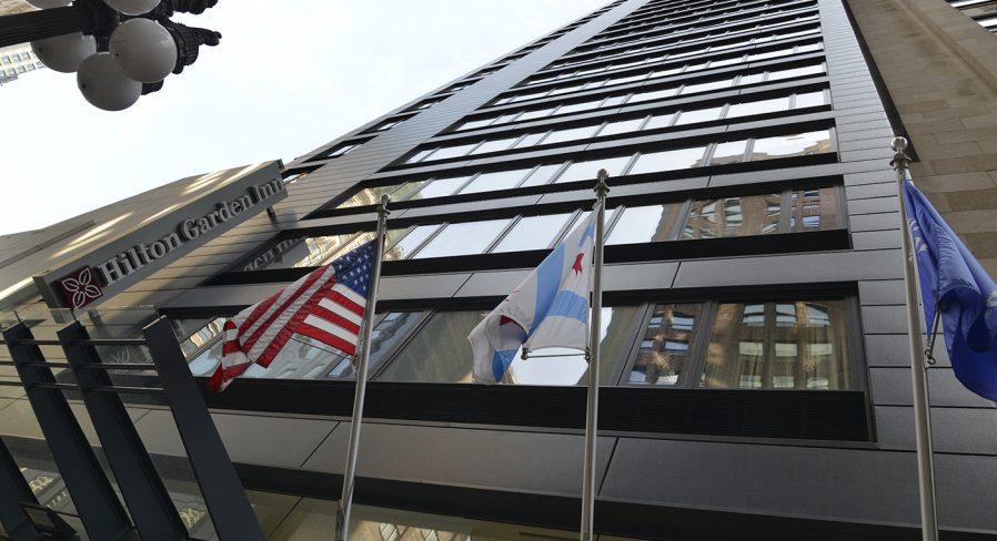 Acquires Hilton Garden Inn Chicago / North Loop
